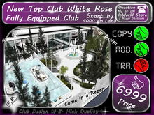 New Club White Rose Fully Equipped