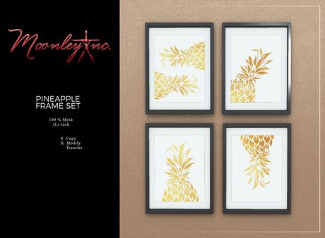 Moonley Inc. - Pineapple Frame Set