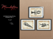Moonley Inc. - Vintage Nautical Frame Set 1