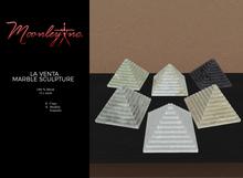 Moonley Inc. - La Venta Marble Sculpture