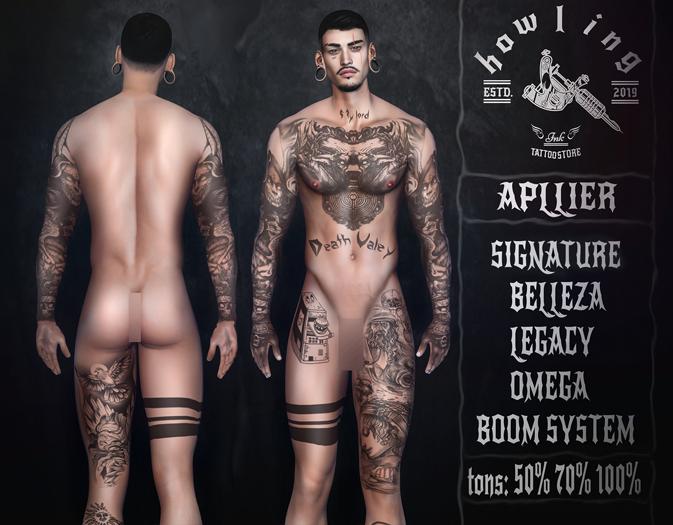 [ H O W L I N G ]- BLACK ST - Tattoo