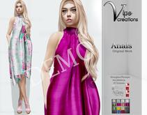 [Vips Creations] - DEMO - Original Mesh Dress - [Anais]FITTED -