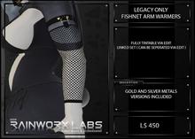 [RL] LEGACY - FISHNET ARM WARMERS - BOXED