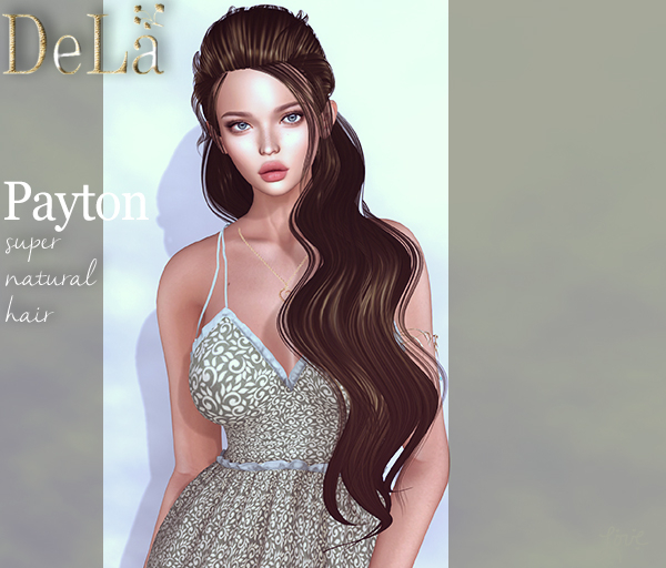 "=DeLa*= Mesh Hair ""Payton"" Demo"