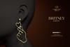 Romazin - Earrings <Britney> FatPack