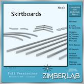 Skirtboard Mesh full perm - ZimberLab Builder's Kit A