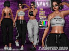 *AMANI* - I SURVIVED 2020 Set (ML)