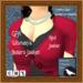 GPA Women's Bolero Jacket - Red Jester (ADD to unpack)