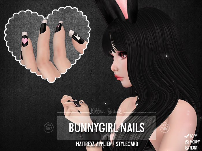 +KS+ Bunnygirl Nails