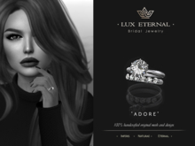 Lux Eternal: Bridal Engagement & Wedding Rings - ADORE