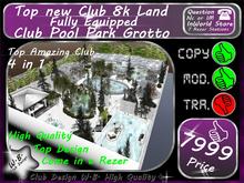 8k Land Club V 6 White Rose Park Grotto