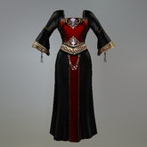 Gothic Queen Maitreya Medieval Dress box
