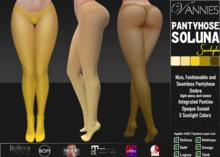 VANNIES Pantyhose Soluna Sunlight Ombre (Applier HUD + BoM) Belleza, Legacy, Maitreya, Slink, Omega + Classic Avatar)