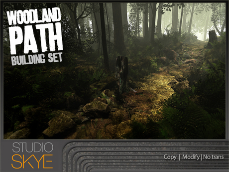 Skye Woodland Path Building Set