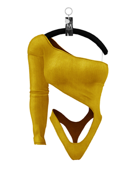 Priyanka Bodysuit — Canary