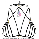 "Elegance Boutique - Bra  - Black- "" Sandra"" Legacy / Maitreya /Slink / Belleza"