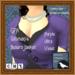 GPA Women's Bolero Jacket - Purple Ultra Violet (ADD to unpack)