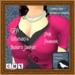 GPA Women's Bolero Jacket - Pink Peacock (ADD to unpack)