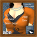 GPA Women's Bolero Jacket - Orange Maple (ADD to unpack)