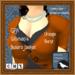 GPA Women's Bolero Jacket - Orange Burnt (ADD to unpack)