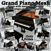 NEW Grand Piano Mesh AVsitter No Poseball, Slow dances, Singer, Guitar and Pianist animations and props, Cuddle and Kiss