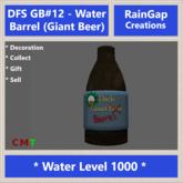 DFS GB#12 - Water Barrel (Giant Beer)