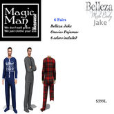 Belleza Jake 6 pair of Onesie Pajamas-Box