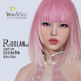 { wren's nest } Ruolan Shape for LeLutka Ryn v2.5 bento head