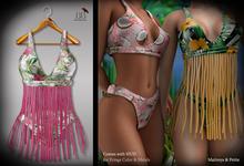 (*<*) 1313 Tahnie Beach Set - Pink Flora