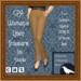 GPA Women's Trousers Linen - Tan Saddle (ADD to unpack)
