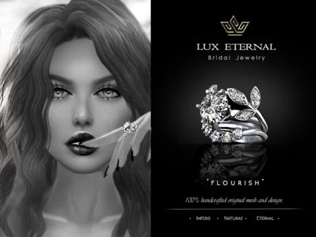 Lux Eternal: Bridal Engagement & Wedding Rings - FLOURISH