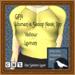 GPA Women's Scoop Neck Top - Yellow Lemon (ADD to unpack)