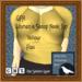 GPA Women's Scoop Neck Top - Yellow Flax (ADD to unpack)