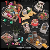 1. Ayla. - Christmas Goodies - Assorted Cookies RARE