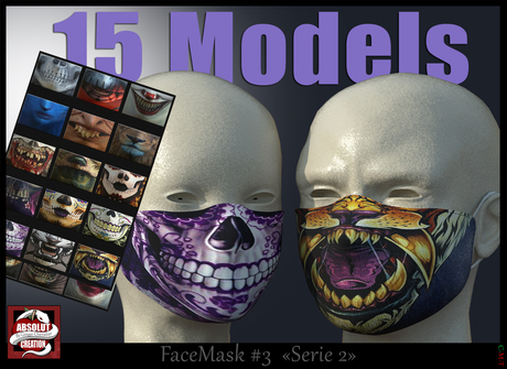 *!* Face Mask #3 serie 2