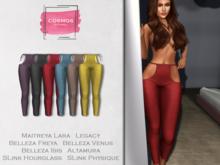 [COSMOS] Farina Leggings Metallic / 6 Colors Fatpack