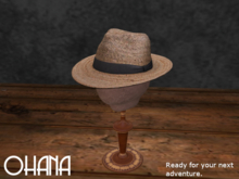 Ohana Tropics Fedora Natural V2 (WEAR TO UNPACK)