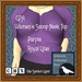 GPA Women's Scoop Neck Top - Purple Royal Lilac (ADD to unpack)