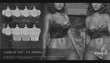 Cynful Laced Up Top - FLF Special Edition -Demo - [Maitreya Lara + Petite, Belleza Freya, Slink (HG), Legacy + Perky