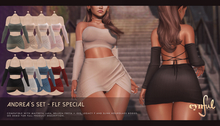 Cynful Andrea's Set - FLF Special Edition -Pack 2 - Maitreya Lara, Belleza Freya + Isis, Slink (HG), Legacy