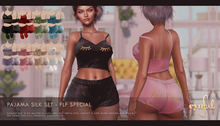 [Cynful] Pajama Silk Set - FLF Pack 1 [Maitreya Lara + Petite, Belleza (Isis + Freya), Slink (HG), Legacy + Perky