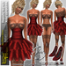 Babele Fashion Minidress Rapallo Red