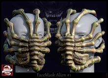 *!* FaceMask Alien #1