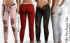 COLLETE FEMALE PANTS FATPACK COLORS MESH - MAITREYA - FREYA - LEGACY - FashionNatic