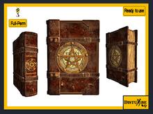 ::DisturbeD:: Grimoire Book of Spells - FULL PERM MESH