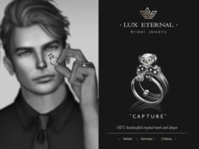 Lux Eternal: Bridal Engagement & Wedding Rings - CAPTURE