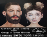 [ H O W L I N G ]-KiA- Tattoo Face