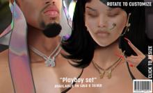Doua.// Playboy Set Silver