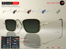 A&D Clothing - Glasses -Singh-  Deluxe