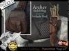 *.* Archer saddlebag-Teegle-Hanoverian animesh